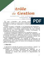 Controle de Gestion -AGRAD