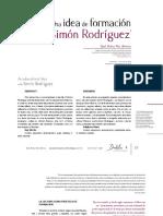 Páez - Formación con Simon Rodriguez