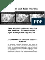 Eerbetoon Aan Jules Marchal