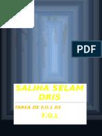 Selam Dris Saliha FOL03 Tarea.doc