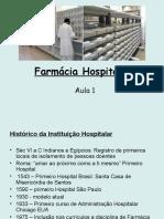Farmácia Hospitalar- Aula 1
