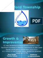 State of the Township 2016 Powerpoint