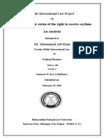 Public International Law Project