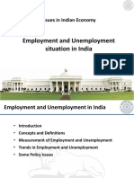 PPT Employment Unemployment in India