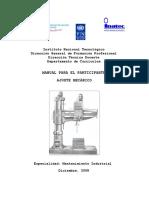 Manual de Ajuste Mecánico Modificado