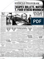 Chronicle front page, Feb. 16, 1933