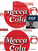 Re Launching of Mecca Cola in Pakistan