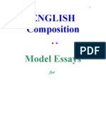 English Composition - An eBook by Subroto Mukerji