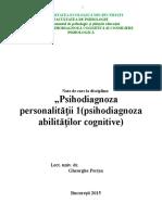 SintezaPsihodiagnozaAbilitățilorCognitive