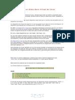 Crear Un Disco Duro Virtual en Linux
