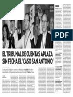 El Tribunal de Cuentas Aplaza Sin Fecha El Caso San Antonio (DNA) 15.01.2016