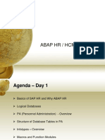 ABAP-HRHCM