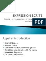 Expressioncrite Courrielperpresenterunami 130829162955 Phpapp02