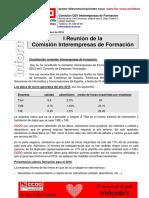 Informe CEV Formacion 20160217