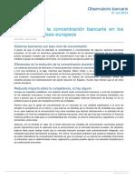 Observatorio Concentracion Bancaria BBVA Research
