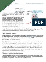 Electrical Engineering Portal.com AC vs DC