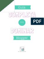 Guía Completa Para Dominar Blogger