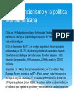 El Intervencionismo y La Política Latinoamericana