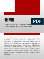 MONOGRAFIA - Uso do CRM como ferramenta da loja virtual Submarino