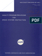 (NASA NPC-200-2) Quality Program Provisions for Space System Contractors (NHB-5300.4-1B) (1962)