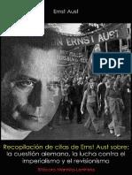 Enst Aust; Recopilación de Citas de Ernst Aust, 2015