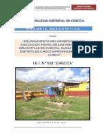 Inf. Tecnico - PIP Iniciales Checca
