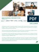 Institutional Presentation 2015