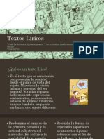 Generalidades sobre Textos Líricos