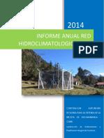 Informe Red Hidroclimatologica Año 2014 Cuenca Río lebrija