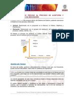 4 Consideraciones Previas Proceso Auditorias Ejemplos Notas Desviacion