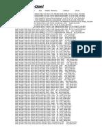 Lista de Vehiculos y Driver