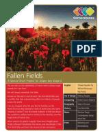Fallen Fields - Lesson Plan