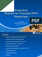 RFP Evaluation