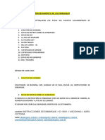 Manual Procedimiento de Exportacion