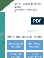 Federal Taxation ch4