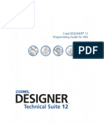 Corel DESIGNER 12 VBA Programming Guide