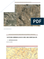 Estudio Hidrologico Rio Disparate
