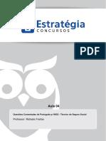 Português p INSS - Questões Comentadas - Técnico de Seguro Social - A004