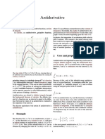 Antiderivative