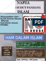 Napza Dalam Sudut Pandang Islam