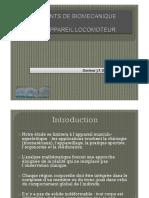 Eléments de Biomécanique de l'Appareil Locomoteur JP Diverrez