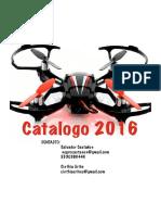 Catálogo  Drones 2016