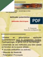 Principes de La Methode Electrique