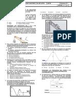 Evaluación No 9 de 11º (Trabajo^J potencia y energía) Tercer Trimestre 2014-2015