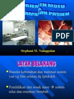 SMN-Manajemen Mutu & KeslamatanPasien