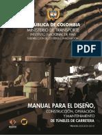 Invias 2015 Manual de Tuneles Para Colombia