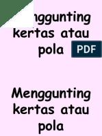 Fungsi for Categorising