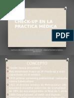 Check Up en La Practica Medica