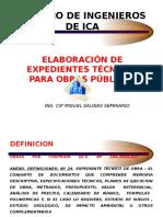 Expedientes Tecnicos Cip Ica