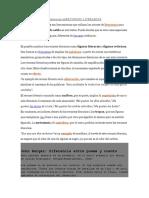 DEFINICIÓN DE RECURSOS LITERARIOS